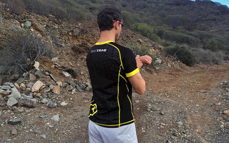 Restitusjon med tømmerstokkbein / Gran Canaria / Løping / Løpetur