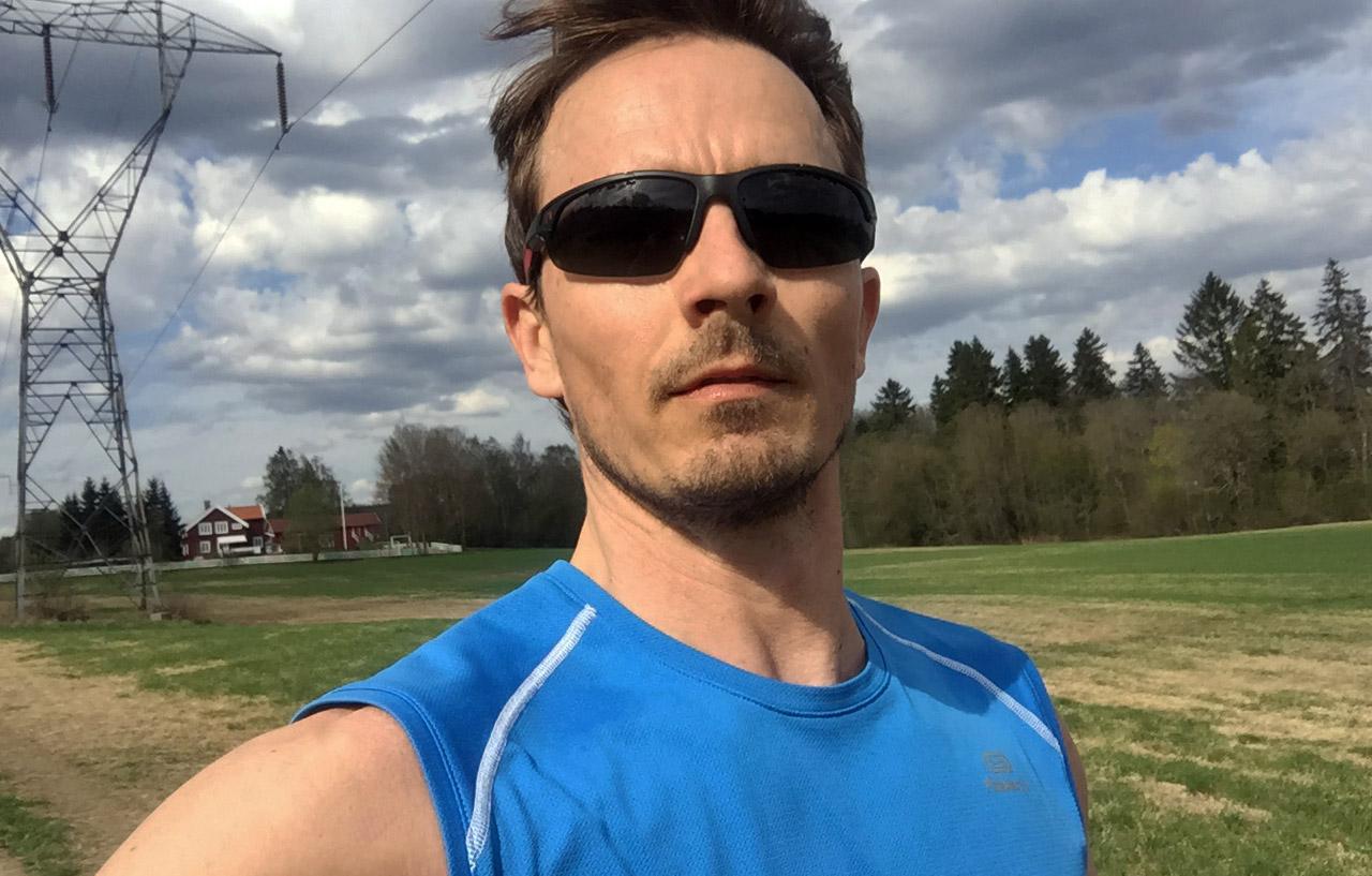 Elendig treningsøkt og løpetur rundt Sognsvann