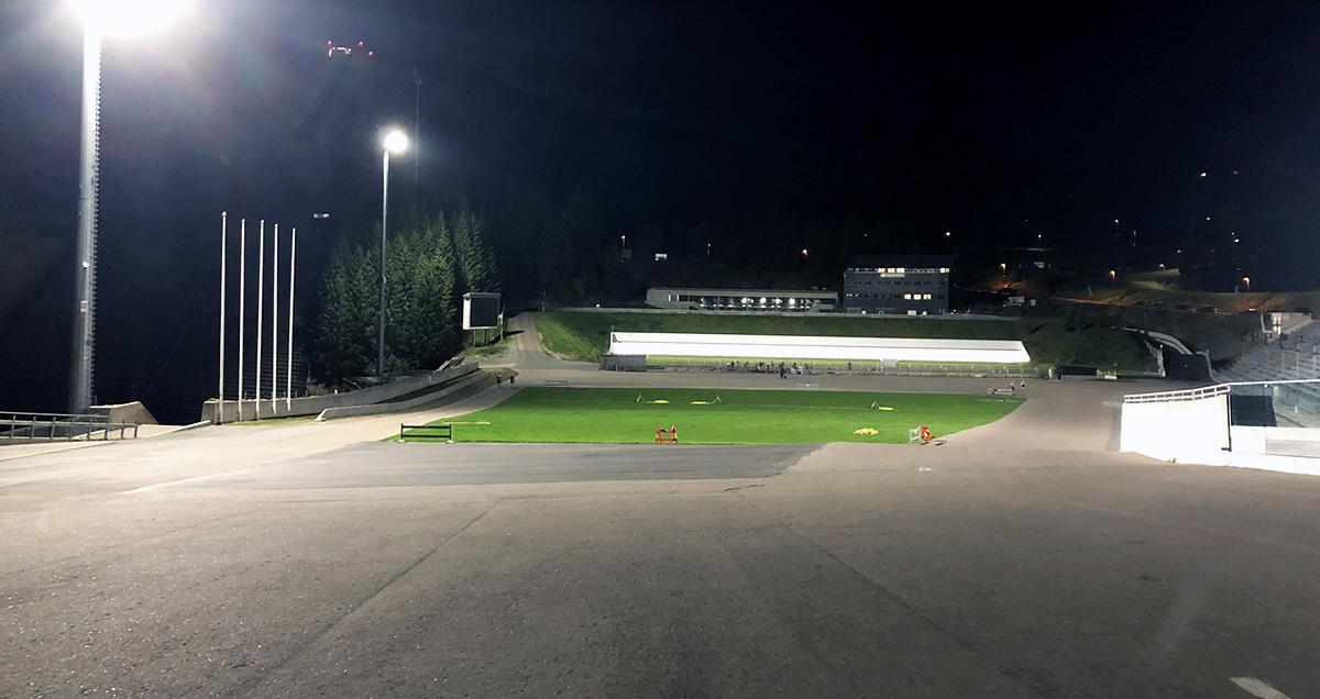Første økt på rulleski i Holmenkollen / Rulleski / Langrenn / Trening